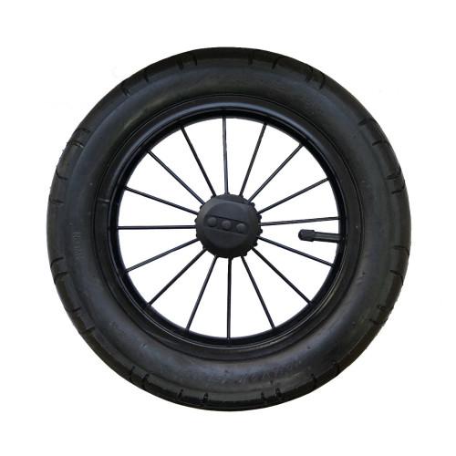 Колесо металлическое (чёрное) 12 дюймов