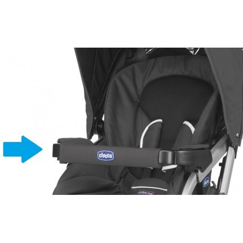 Накладка на бампер к коляске Chicco Activ3 (Черная)