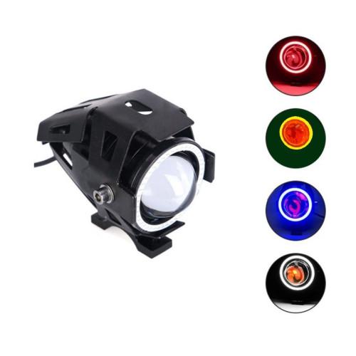 Линзовая фара 12-80V для электросамокатов (4 цвета свечения)