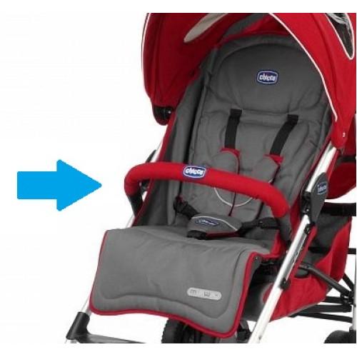 Бампер для колясок Chicco MultiWay Evo (Цвет красный)