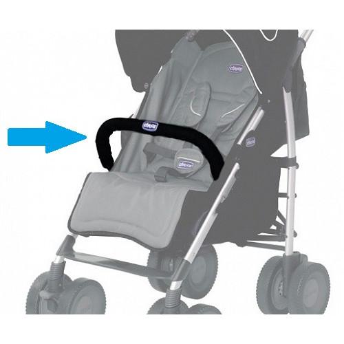 Бампер для коляски Chicco MultiWay (Черный цвет)