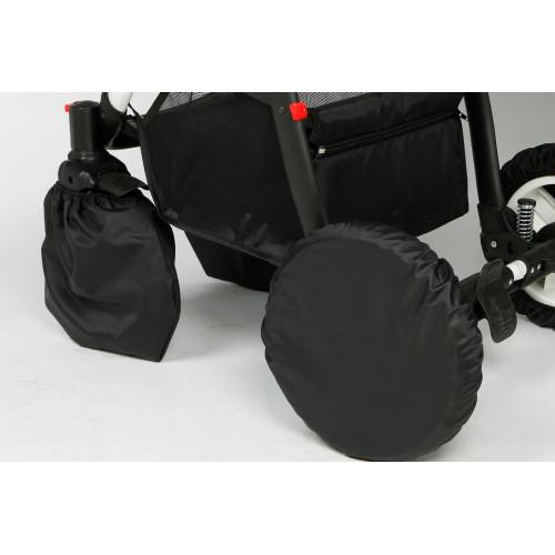 Чехлы на коляски с поворотными колесами (4 штуки)