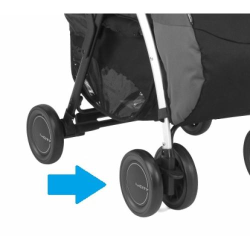 Блок колес для коляски Chicco Simplicity (Цвет черный)