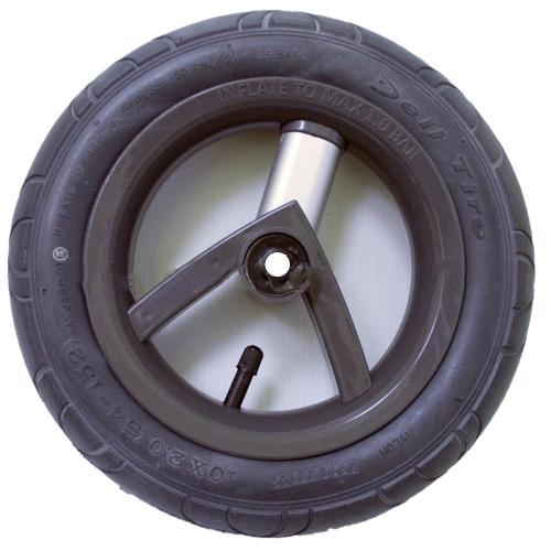 Колесо Adamex Aspena / Bebe-mobile 10 дюймов (Черно-серое)