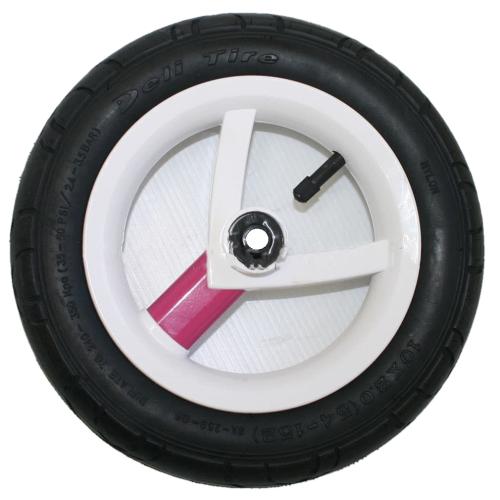 Колесо Adamex Aspena / Bebe-mobile 10 дюймов (Бело-розовый)