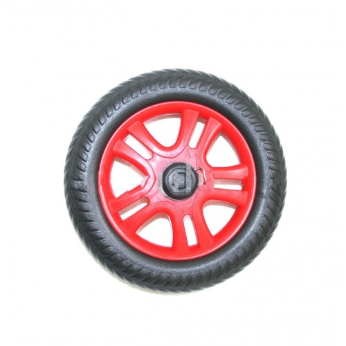 Колесо для коляски 180 мм на ось 8мм
