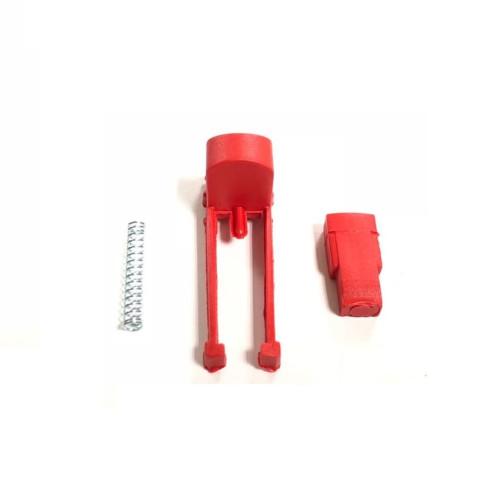Фиксатор поворотного колеса (красная кнопка) для детской коляски