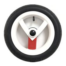 Колесо Adamex Aspena / Bebe-mobile 12 дюймов (Бело-красное)
