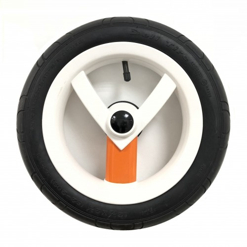 Колесо Adamex Aspena / Bebe-mobile 12 дюймов (Бело-оранжевое)