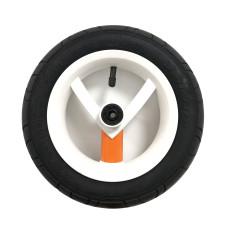 Колесо Adamex Aspena / Bebe-mobile 10 дюймов (Бело-оранжевое)