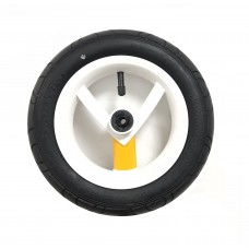 Колесо Adamex Aspena / Bebe-mobile 10 дюймов (Бело-желтое)