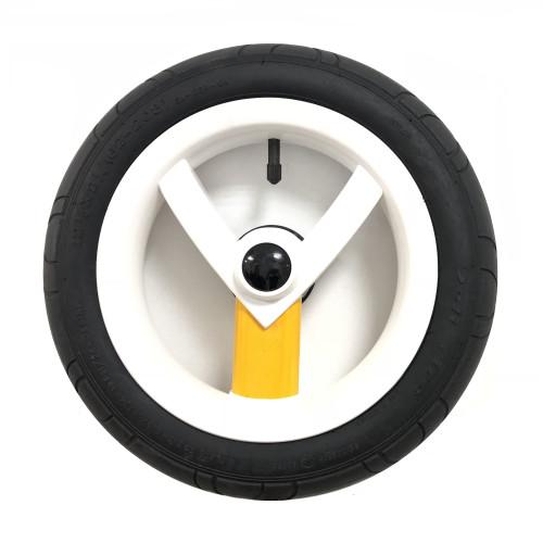 Колесо Adamex Aspena / Bebe-mobile 12 дюймов (Бело-жёлтое)
