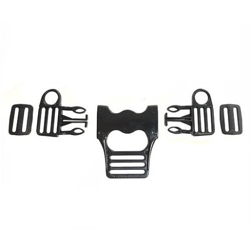 Комплект Фастексов для ремней безопасности детской коляски (тип 2)