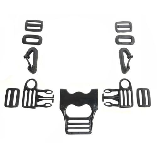 Комплект Фастексов для ремней безопасности детской коляски (тип 5)