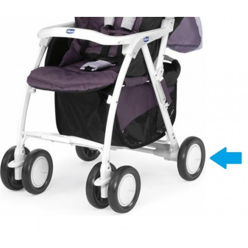 База задних колес для Chicco Simplicity (Белый цвет)